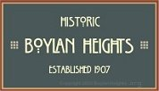 Boylan Heights Neighborhood Logo