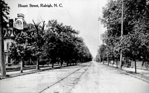 Blount Street photo from 1910